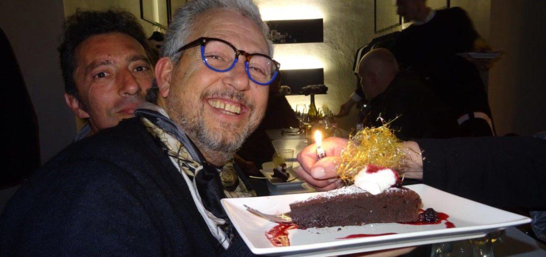 Massimo Ardizzone spegne le sue candeline, accanto ad Alessandto Clemente