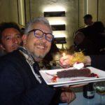 Candeline e poesia per lo stilista Massimo Ardizzone al Chiosco