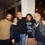 Giovanni Bondi, store manager di Nhvr, Floriana Turco, e Giuseppe Turco, uno dei due fondatori di Nhvr insieme a Totho Priano, Rosi De Simone e Massimo Ardizzone