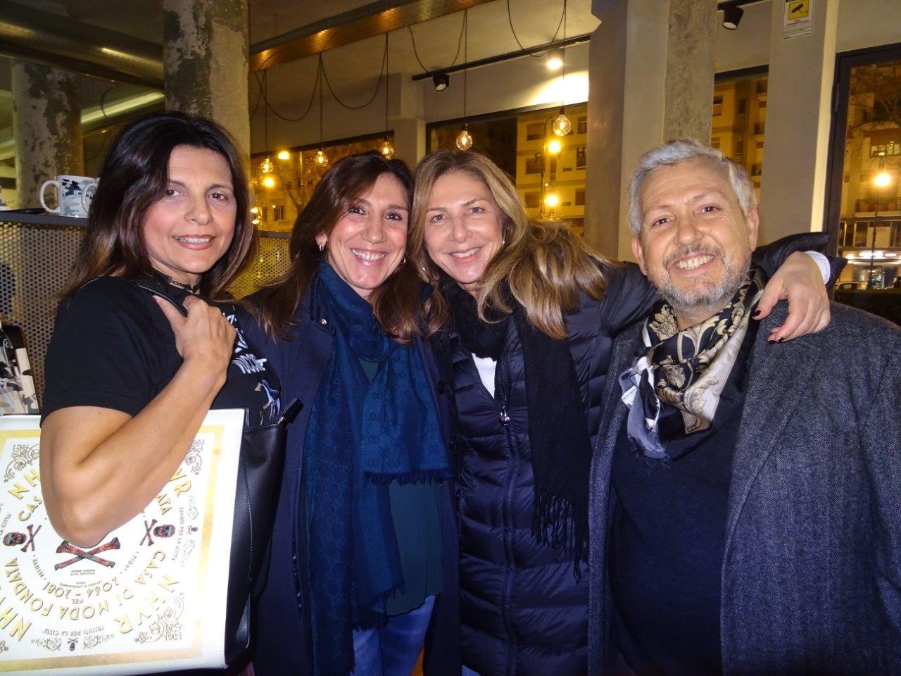 Rosi De Simone, Francesca D'Angelo, Alessandra D'Agostino e Msssimo Ardizzone