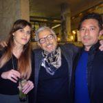 Massimo Ardizzone tra Matilde e Alessandro Clemente
