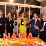 Festa di compleanno all'Hotel Wagner per Nadia La Malfa