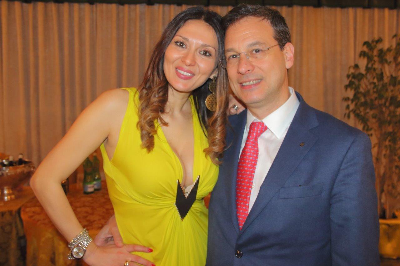 Nadia La Malfa e Giuseppe Lupo