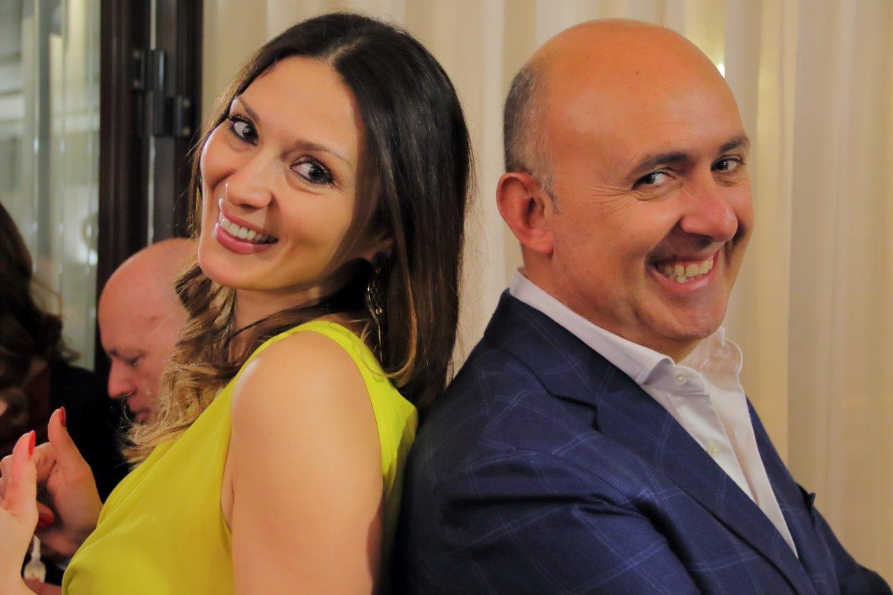 Nadia La Malfa e Sasà Salvaggio