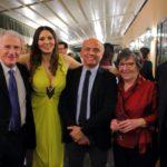 Aldo Piccione, Nadia La Malfa Ludovico Giambrone, Teresa Piccione e Giovanni Lo Cascio