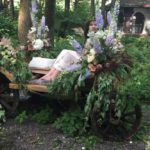 Mostra di creazioni floreali a Villa Boscogrande, per Wedding Style