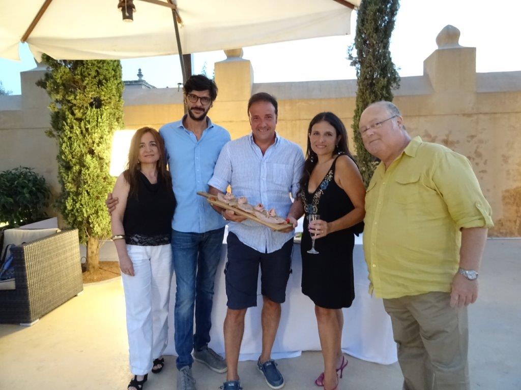 Daniela Passantino, Marcello e Antonio Cottone, Milvia Averna e Fabio Console