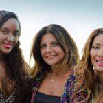Yara Mosquito, Rosi De Simone e Dasililla Pecorella Oliveira ph Gianni Geraci