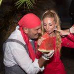 Il maestro Peppe Giuffrè ha curato il party di Pucci Scafidi e Giuseppe Guttadauro a Pantelleria