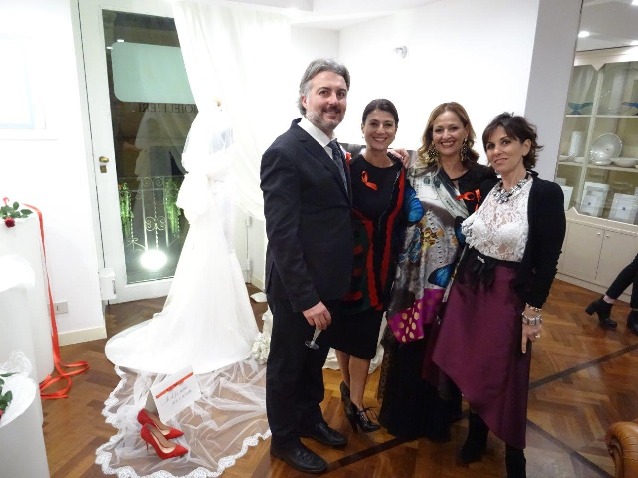 Cristian Cipolla, Manuela Monaco, Loredana Giliberto, Vivia Cascio