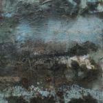 Crosta del periodo informale, Paesaggio, 66x90, del 2016_di Guido Guzzo