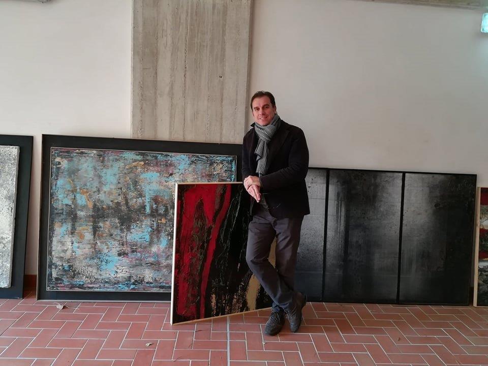 Il pittore Guido Guzzo