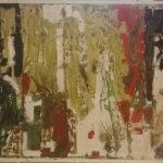 Crosta a combusione di plastica e colore, del 2017_200x150_di Guido Guzzo