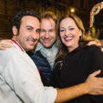 Natale Giunta, Fabio Buccellato e la wedding planner Loredana Giliberto