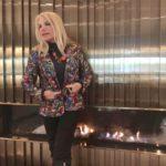 Maria Giovanna Elmi indossa Siria Eco Design