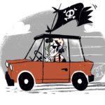 """Presentato """"Pirati della distrazione"""" vademecum sulla sicurezza in auto, edito da La Nuova Guida"""
