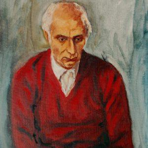 ADA - RITRATTO DI ALDO (col maglione rosso)