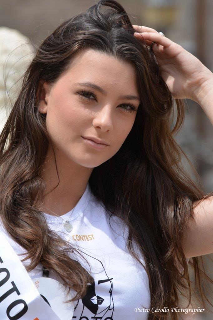 Fotomodella dell'anno 2018_Giulia Di Leo, vincitrice della prima tappa