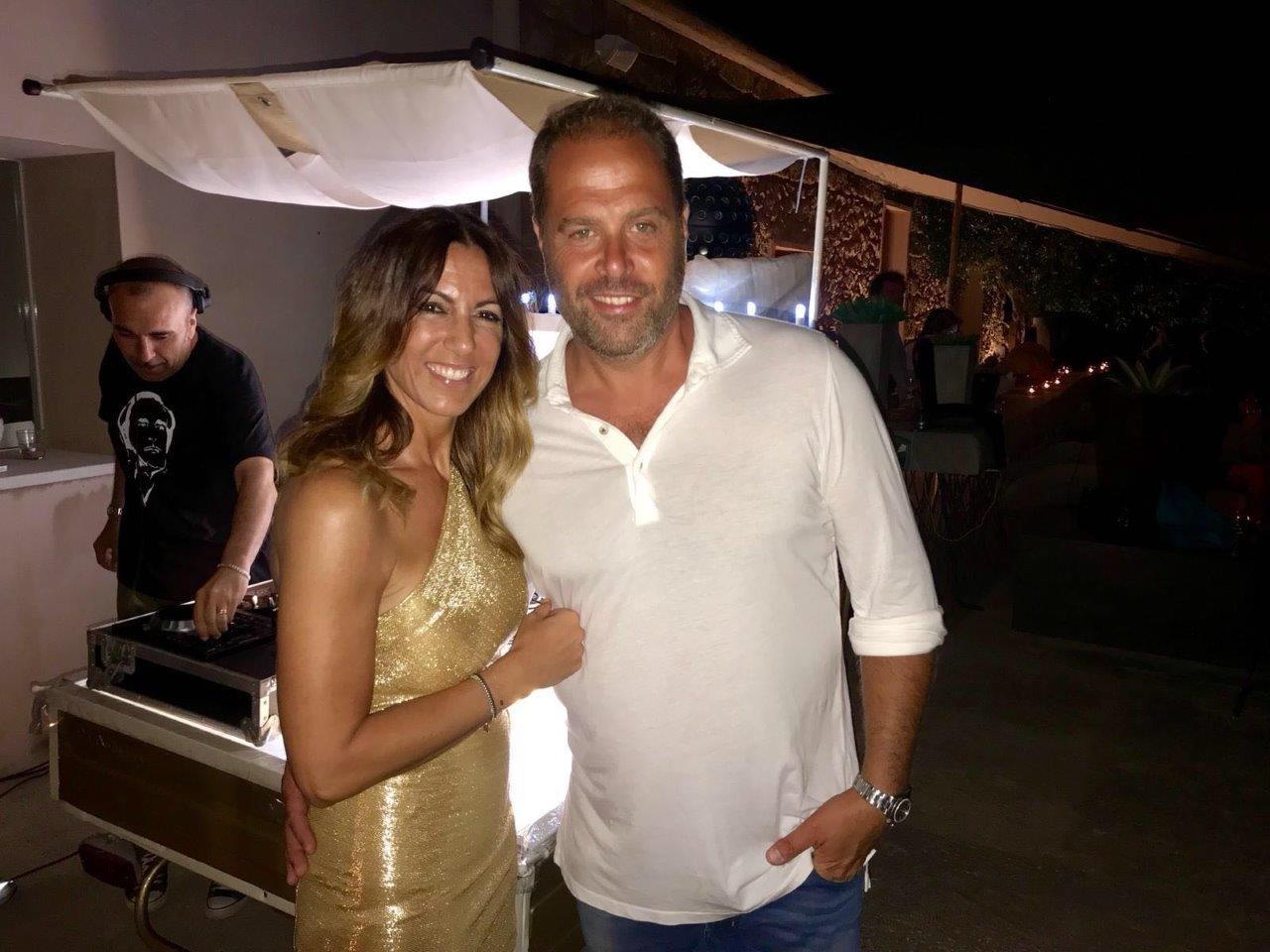 Luisa De Giacomo e Vittorio Orlando