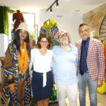 Sabina Fernando, Alice Riera, Massimo Ardizzone e Vincenzo Ingrassia