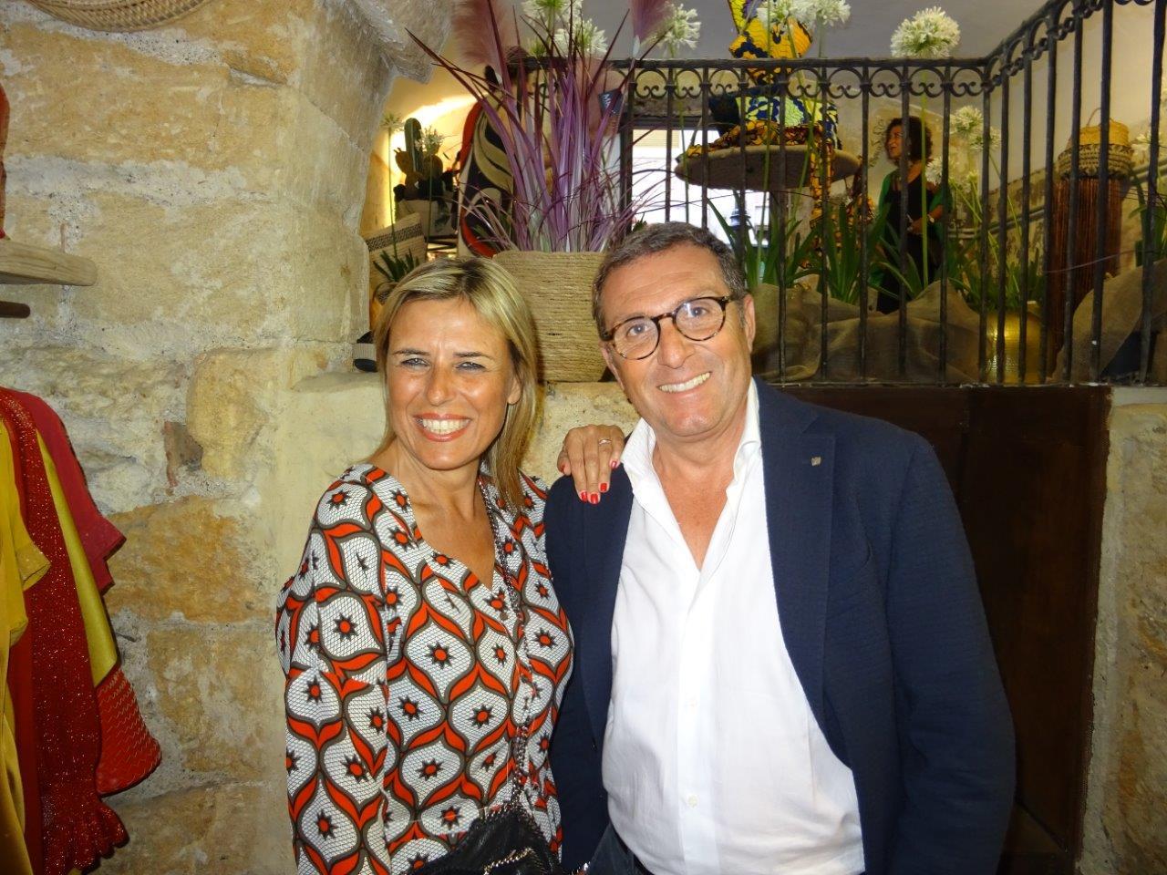 Anna Torres e Gaetano Madonna
