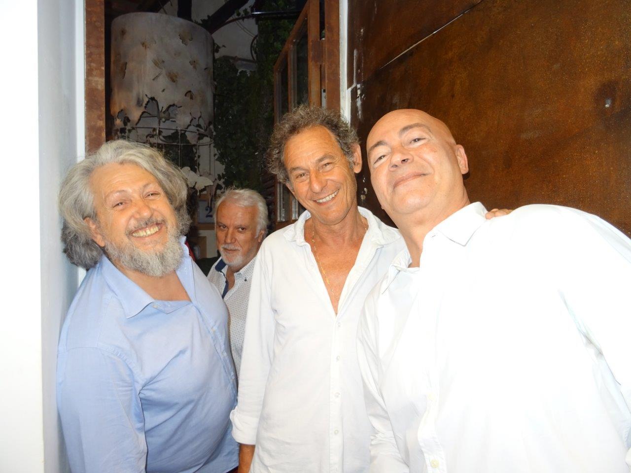 Massimo Ardizzone, Massimo Sgroi e Alfonso Catasino