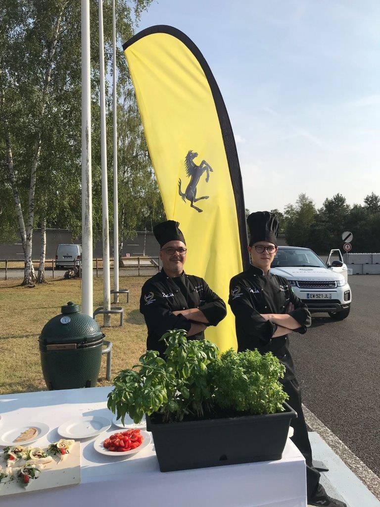 Sicicon Valley_Giovanni e Tony Laudani all'autodromo di Mortefontaine ospiti del club Ferrari