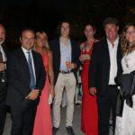 Giuseppe Stanzione, Pucci Scafidi, Debora Li Vigni, Rossella Guzzo e Nino Abate con i figli
