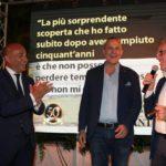Antonio Cancascì con gli amici Paolo Bonanno e Mimmo Tumbiolo