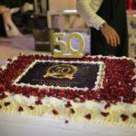 La torta dei 50 anni di Antonio Cancascì