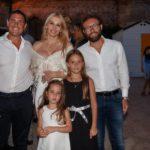 Emanuele Vallone, Ana Paula Paladino Florio, Antonio Levantino, Franca Paladino Florio e Alisee Paladino Florio
