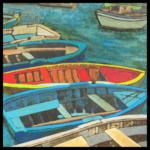 Sicilian Rapsody 4_ (10) Guido Baragli Barche2 tec mxt su tavola  cm 50x50