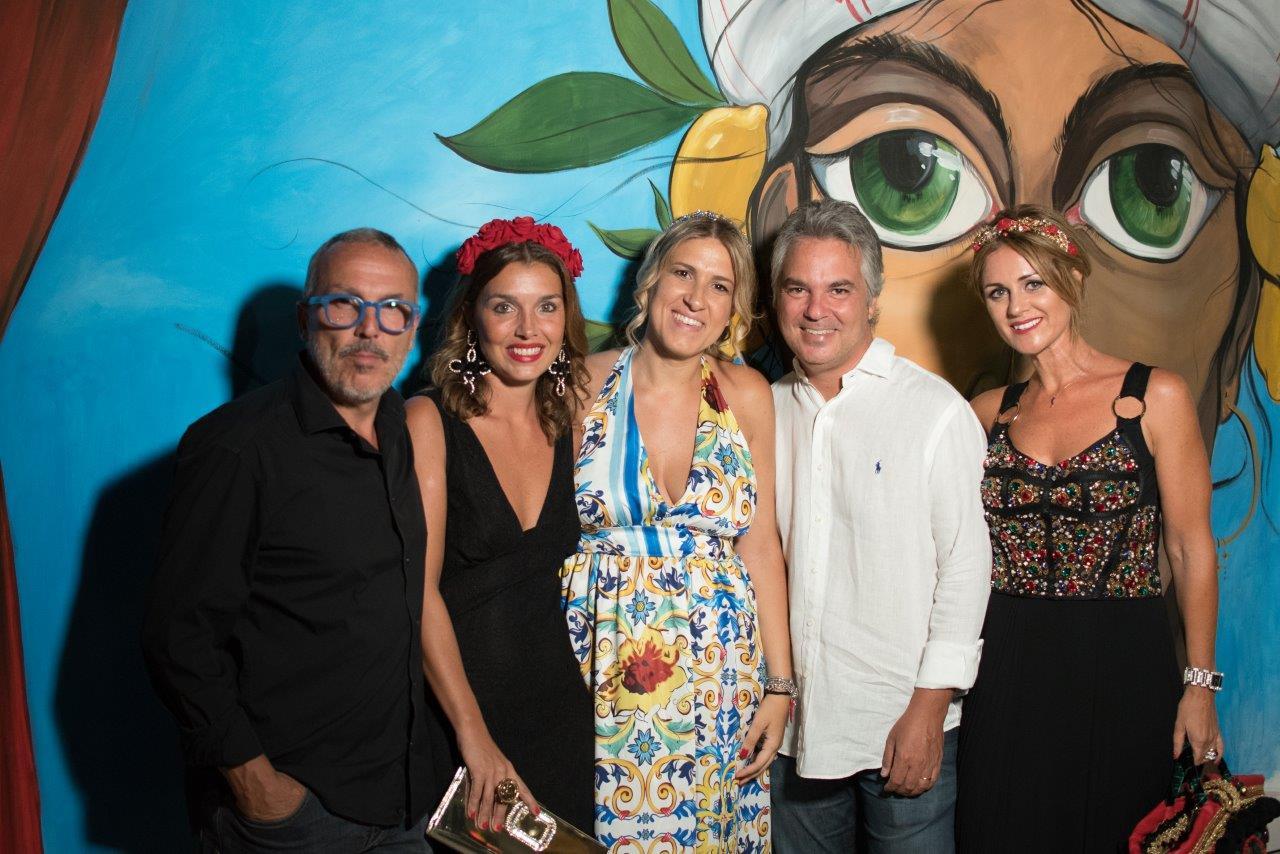 Giuseppe Giglio, Valentina Tranchina, Eva Benzi Alia. Federico Giglio e Chiara Battaglia