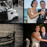 Col Lapino ai Quattro Canti e in barca per il Castello: le nozze di Nadia La Malfa e Giuseppe Lupo