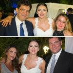 Gaspare Borsellino, Nadia La Malfa e (sotto) Daniela Cardinale, Nadia La Malfa e
