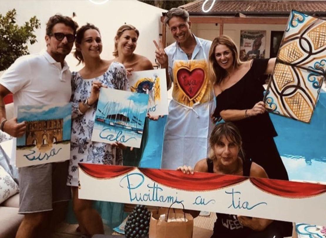 Roberto Alia, Chiara Alia, Eva Benzi Alia, Alessandro Marchese, Chiara Battaglia, Vanessa Gabrielli