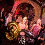 Stefania Baio alla sua festa di compleanno all'Atelier di Palermo