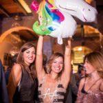 Isabella Capizzi, e Stefania Baio alla sua festa di compleanno all'Atelier di Palermo