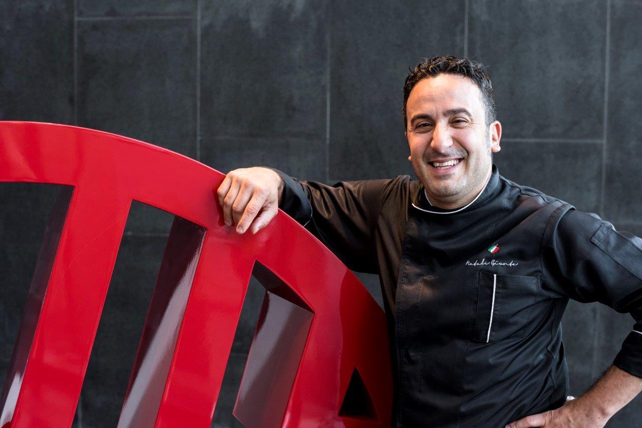 Lo chef Natale Giunta all'NH Collection di Taormina