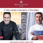 Spettacolo culinario all' NH Collection di Taormina con Natale Giunta e Pietro D'Agostino