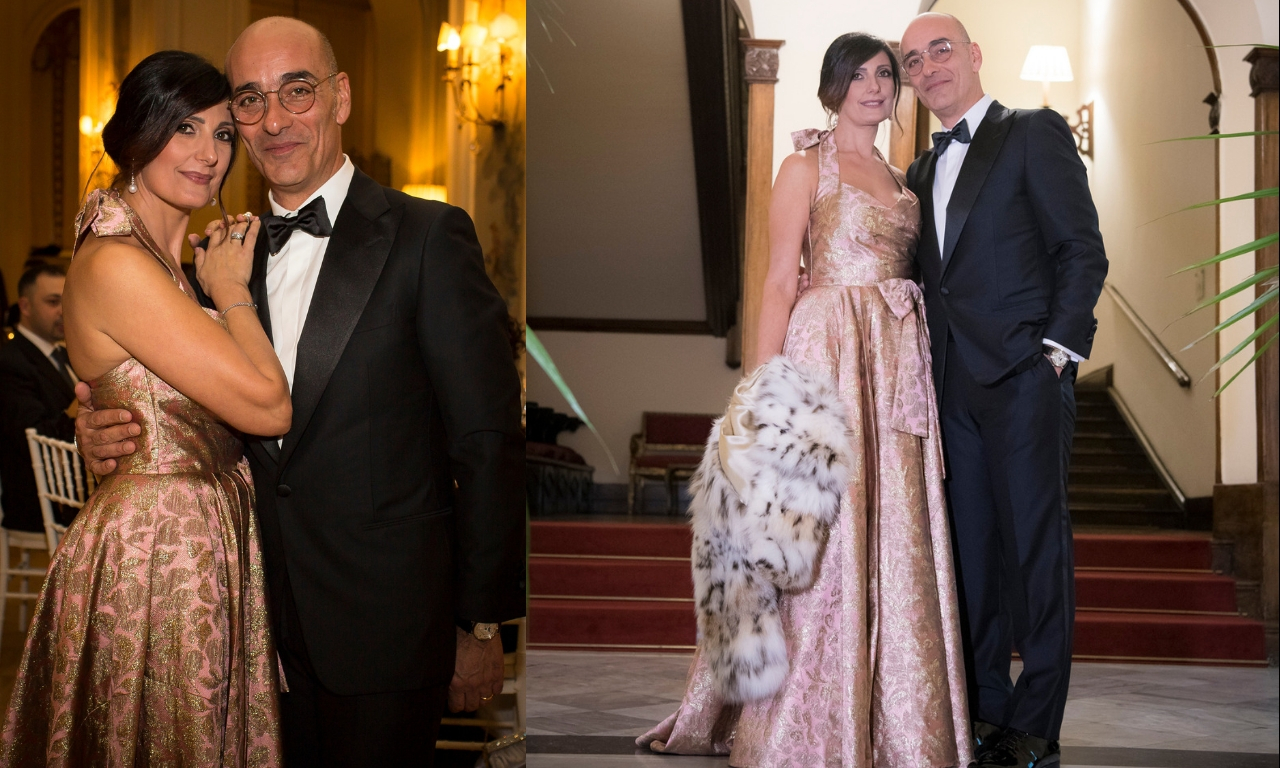 Lidia Cingillo e il marito Vincenzo Cancscì