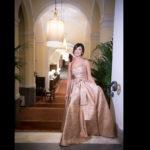 Lidia Cingillo Cancascì alla sua festa di 50 anni a Villa Igiea a Palermo