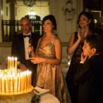 Amalia Giordano, Vincenzo, Lidia, Jessica, Damaris e Michele Cancascì