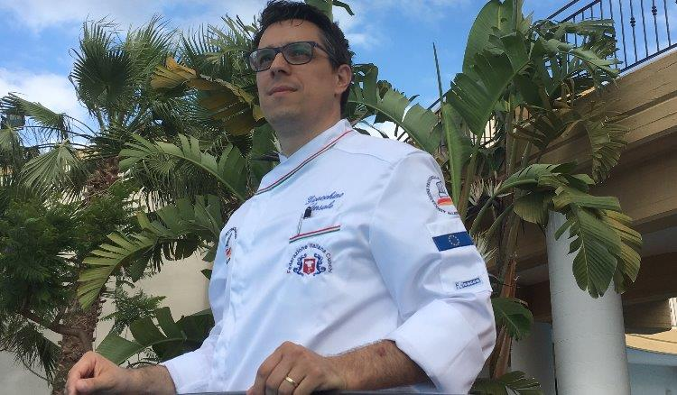 Lo chef Gioacchino Sensale