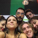 Sara Priolo, Milvia Averna, Gianni Buffa,  Giovanni Latona, Bruna Fossati e Giorgio Passalacqua