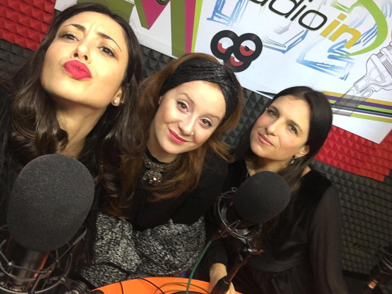 Sara Priolo, Alessandra Salerno e Milvia Averna