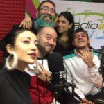 Sara Priolo, dj Daniele Curaci, Milvia Averna e il rapper Spika