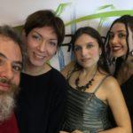 Giovanni Gagliardo, Manuela Laiacona, Milvia Averna e Sara Priolo