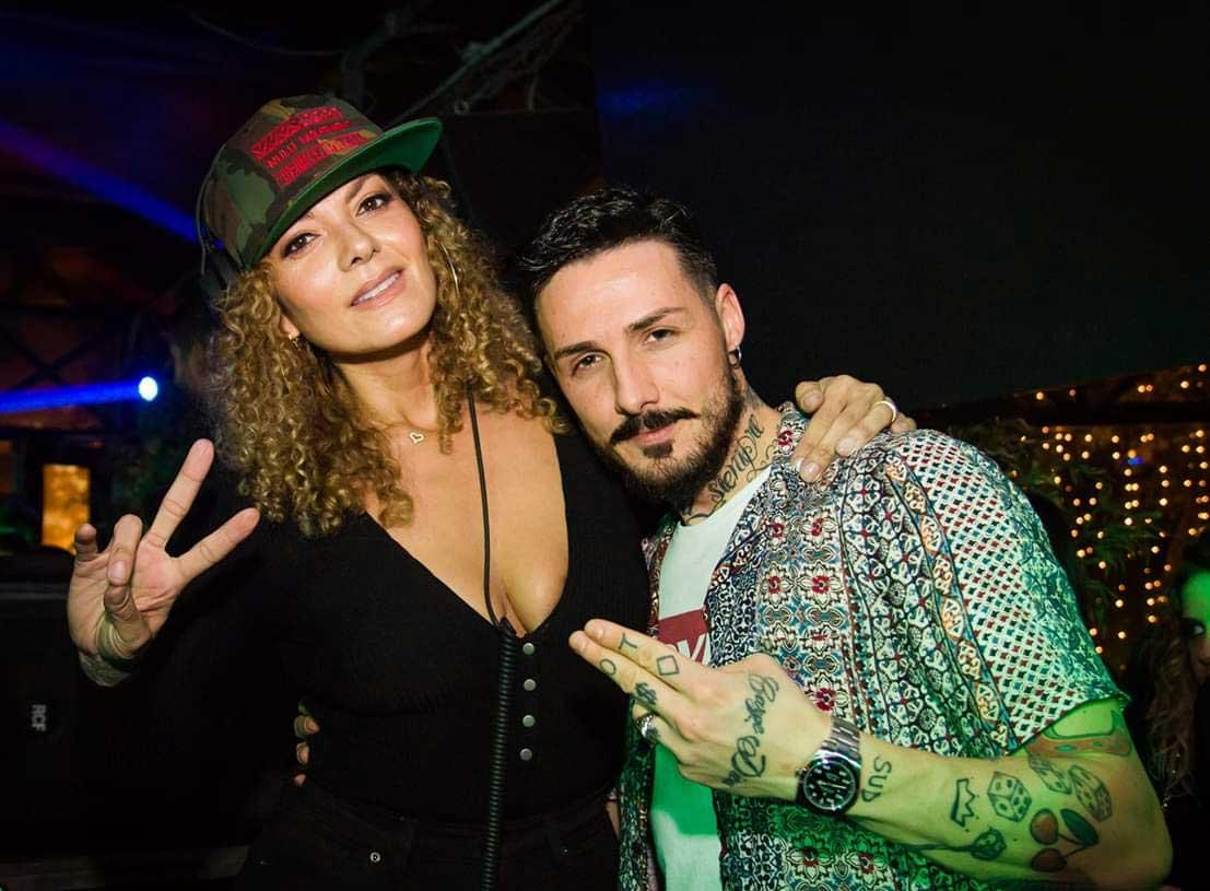 Danilo Martines con Anane Vega