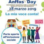 """Giornata della Disabilità Intellettiva e/o Relazionale, a Palermo """"Anffas open day"""""""